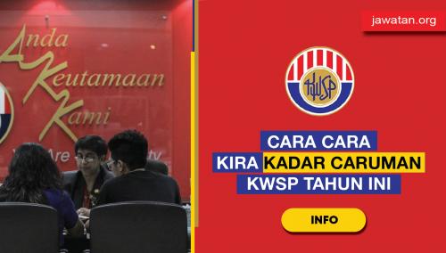 KWSP Kadar Caruman